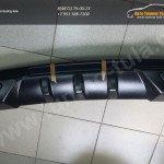 Диффузор бампера под двойной выхлоп Шевроле CRUZE 2009–12/арт.571