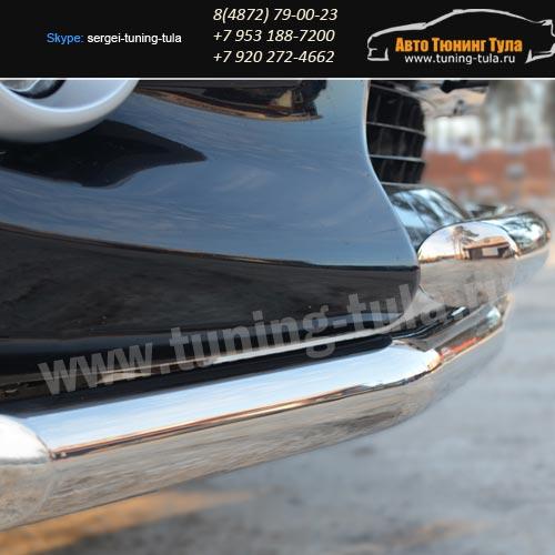 Защита бампера d63/63 дуга Тойота RAV4 с 2010/ арт.619-3