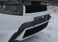 :: Renault Duster Решетка на бампер Bentley Style /арт.292-22