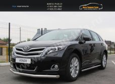 Защита переднего бампера d76 Toyota VENZA 2013+/арт.293-43