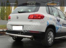 Защита задняя d76 VW Tiguan/Тигуан 2011г/арт.293-57