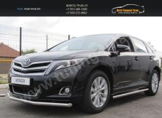 Защита переднего бампера d57 Toyota VENZA 2013+/арт.293-41