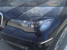 Накладки фар/реснички/АБС-пластик BMW X6 E71 2010-2014  /арт.613