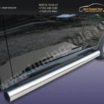 Пороги труба d57 Митсубиши Outlander 2012+