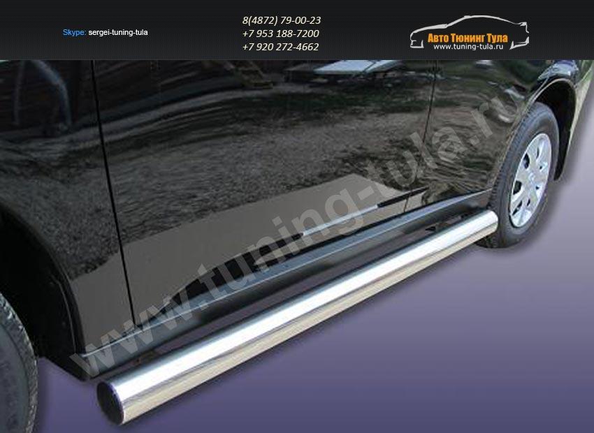 Пороги труба d57 Митсубиши Outlander 2012+ /арт.293-46