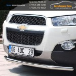 Защита бампера Line d60 Шевроле CAPTIVA/Каптива с 2012