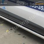 Пороги труба d76 VW Tiguan/Тигуан 2011г