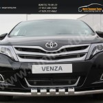Защита передняя декоративная d57 Toyota VENZA 2013+