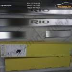 Накладки порогов от царапин Alufrost KIA RIO 3 2011 +
