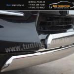 Защита бампера двойная d75x42 овалы Тойота RAV4 с 2010