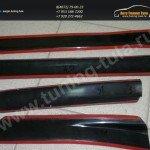 Накладки порогов от царапин АБС-пластик Рено Дастер