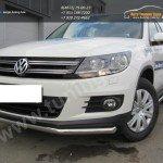 Защита передняя труба d57 VW Tiguan/Тигуан 2011г