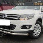 Защита передняя труба d76 VW Tiguan/Тигуан 2011г
