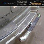 Защита заднего бампера d76 Chevrolet Trailblazer 2005–08г