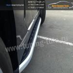 Подножки/Пороги Alyans Toyota Highlander 2010+