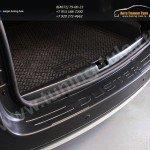 Защита заднего бампера РА 2мм от царапин Рено Дастер