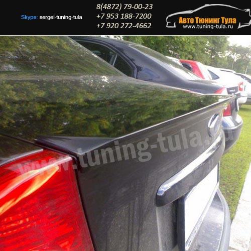 Лип-спойлер Форд Фокус 2 седан с 2004-08 /арт.200-1