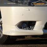 Клыки переднего бампера/Абс-пластик/Хонда Аккорд/Honda Accord VIII с 2011
