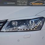 Накладки фар/ресницы/ VW Passat B7