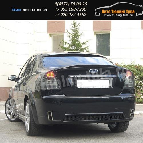 Бампер задний Consept Форд Фокус 2 Седан с 2004 по 2008г.в./арт.228-1
