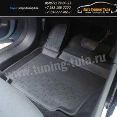 Резиновые коврики с высоким бортом Ford FOCUS 2011+ / арт.235-2