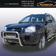 Защита передняя кенгурин d57 Hyundai Santa Fe Classic/арт290-34