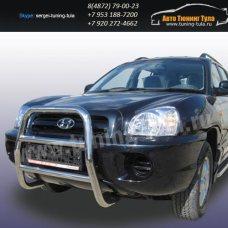 Защита передняя кенгурин d57 Hyundai Santa Fe Classic/арт290-32