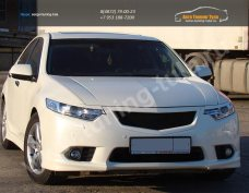 Решетка радиатора+клыки бампера Type S+реснички |АБС-пластик|Хонда Аккорд|Honda Accord VIII с 2011/ арт.625