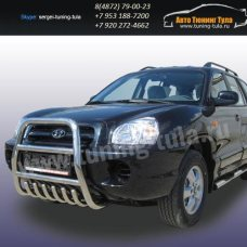 Защита передняя кенгурин d57 Hyundai Santa Fe Classic/арт290-31