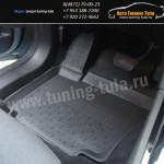 Резиновые салонные коврики - с высоким бортом для иномарок