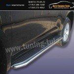 Защита штатного порога d42 Toyota Prado 150