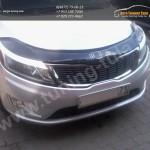 Накладки фар передние /ресницы/ KIA RIO III 2011+