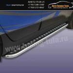 Пороги с листом d57 Hyundai ix-35