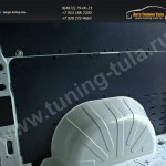 Обшивка стенок грузового отсека Citroen Jumper L1H1 2006-два яруса (3 мм)