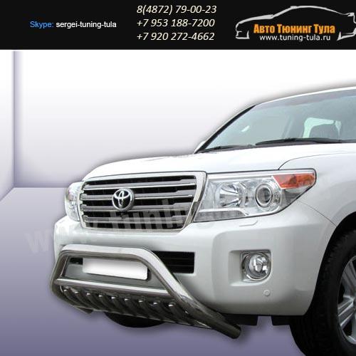Защита передняя кенгурин d76 Toyota Land Cruiser 200/арт289-20