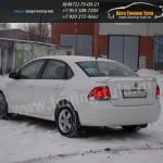 Спойлер высокий /АБС-пластик/ VW Polo sedan/Поло седан