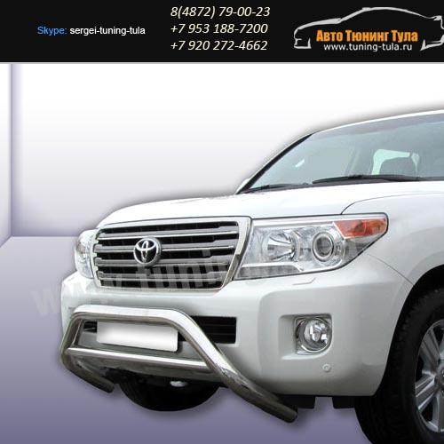 Защита передняя кенгурин d76 Toyota Land Cruiser 200/арт289-21