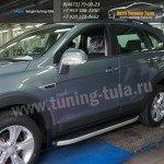 Подножки/Пороги Alyans Шевроле Каптива /Chevrolet Captiva 2006+/2012+