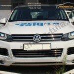 Накладки фар / Реснички VW Touareg 2010 +