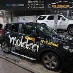 Подножки/Пороги Alyans Опель Мокка /Opel Mokka
