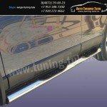 Пороги труба с накладками d76 Honda CR-V III