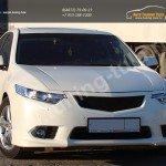 Решетка радиатора+клыки бампера+реснички  АБС-пластик Хонда Аккорд Honda Accord VIII с 2011/ арт.625