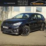 Защита порогов d42,4 мм Subaru XV 2012+