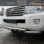 Защита бампера d76/d76+защита картера/ TOYOTA LC 200/c 2012+