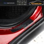 Защита от царапин/Накладки порогов абс-пластик Ниссан JUKE