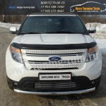 Защита переднего бампера  d76,1 мм  Ford EXPLORER 2012+