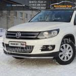 Защита бампера d42,4 VW TIGUAN Sport & Style (Trend & Fun) 2011+