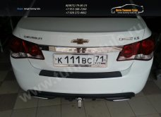 Защита от царапин/Накладка бампера абс-пластик Chevrolet CRUZE 2009-2013 – NCC-009602