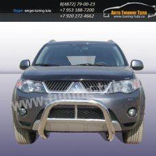 Защита передняя кенгурин d76 Mitsubishi Outlander XL /292-15