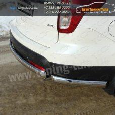 Защита бампера d75x42+уголки овальные d75x42 Ford EXPLORER 2012+/арт.671